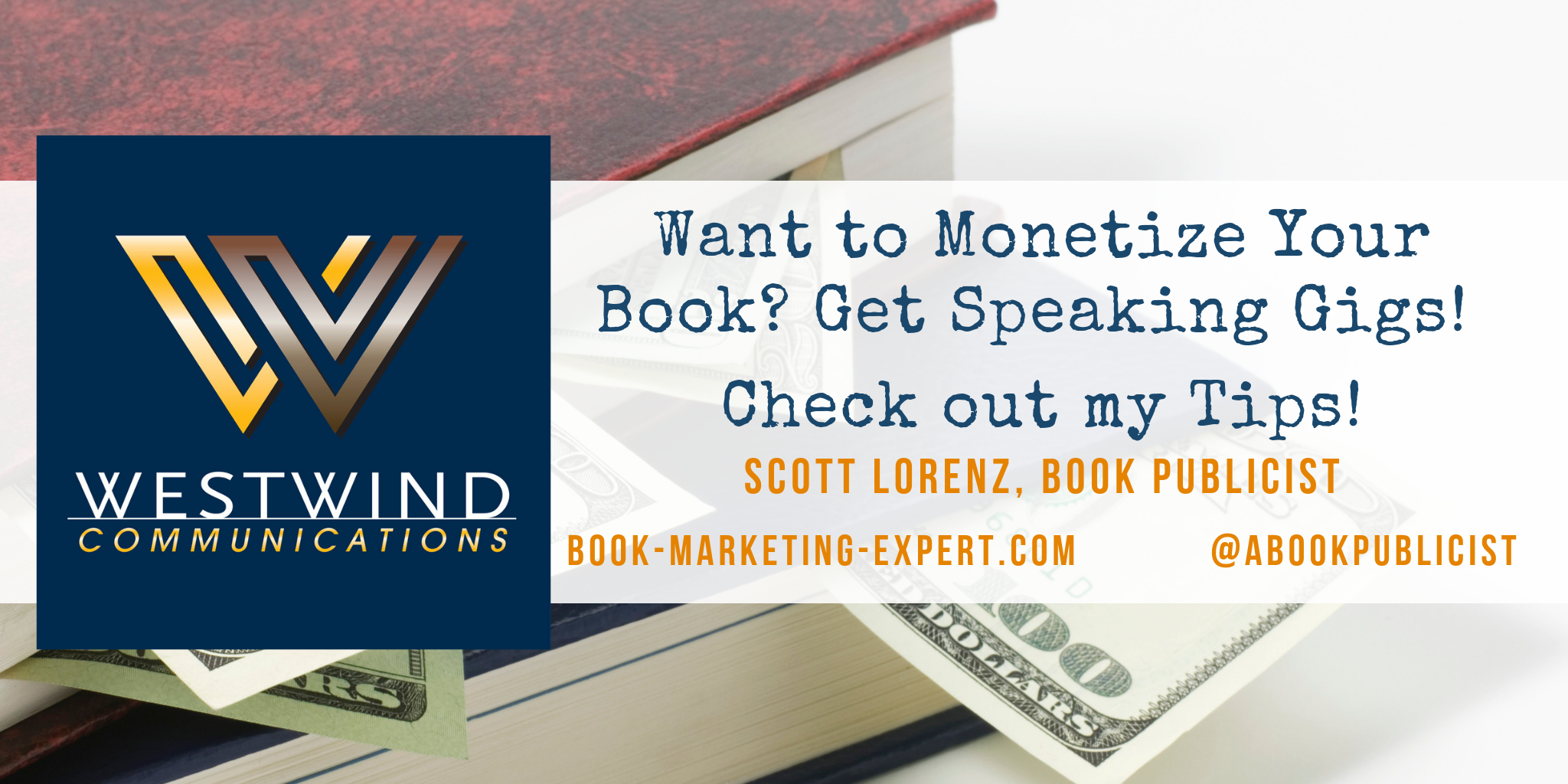 Learn how Authors can get Speaking Gigs